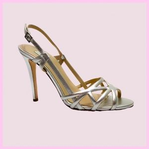 Diane von Furstenberg Upton Leather Heel Sandals 8